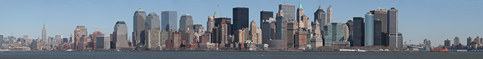 New York Panorama Photo